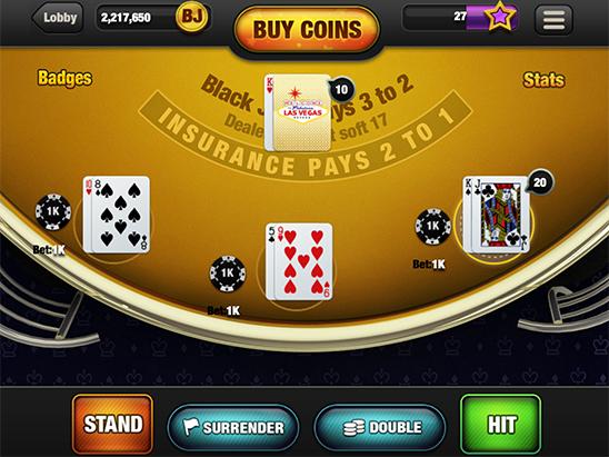 Free Blackjack Online With Friends No Download Or Reg