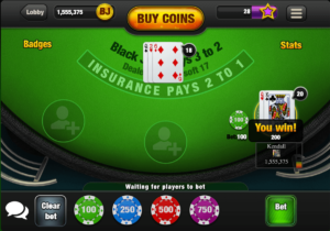 free blackjack mulitplayer
