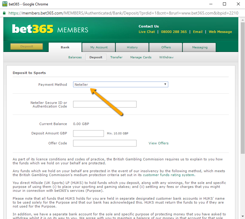 bet365 betting with bitcoin in India