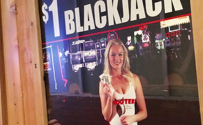 Hooters Has The Cheapest Blackjack In Las Vegas