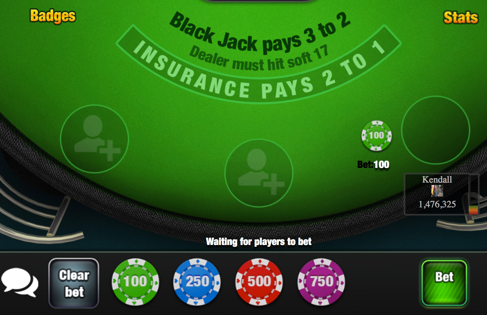 Blackjack Online With Friends