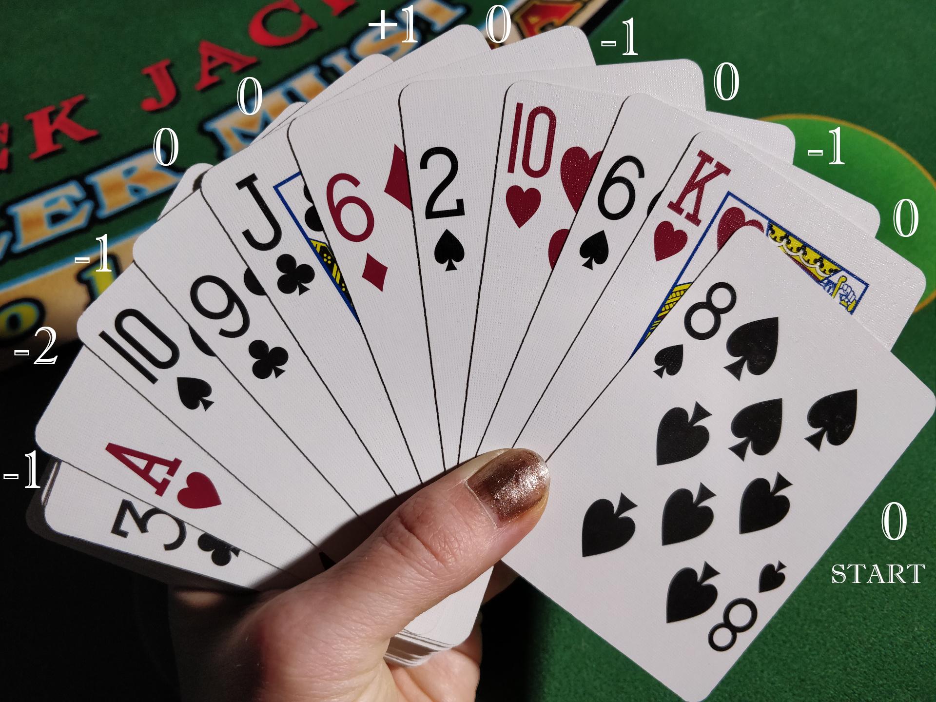 Starting a Running Count Blackjack