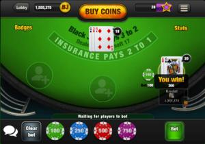 free blackjack mulitplayer