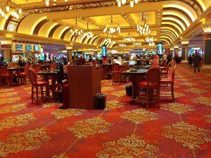 Vegas blackjack tables