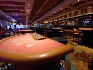 Las Vegas blackjack felt