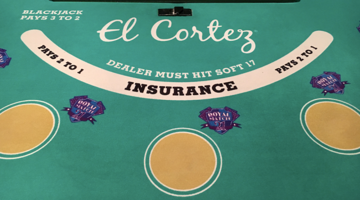 El Cortez Blackjack